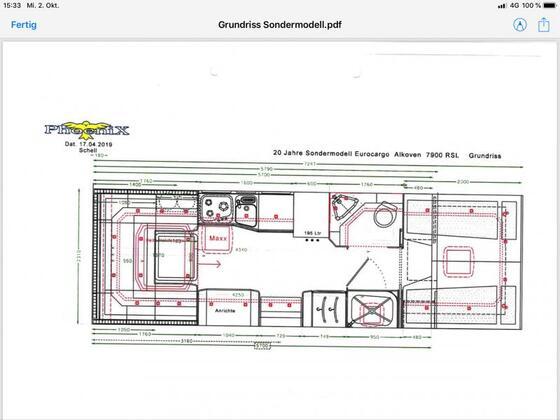 Grundriss A 7900 RSL