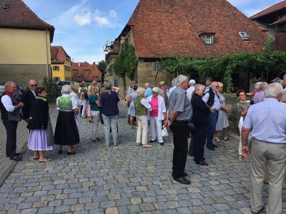 2017-07 Weinfest Castell kleines Treffen 15